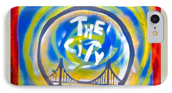 The Golden State City #1 IPhone Case by Tony B Conscious