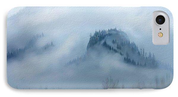 The Gorge In The Fog IPhone Case by Debra Baldwin