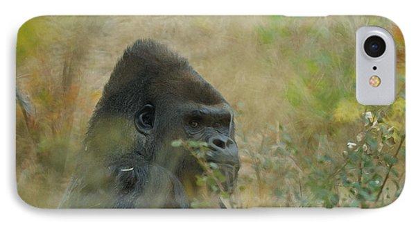 The Gorilla 5 IPhone Case by Ernie Echols