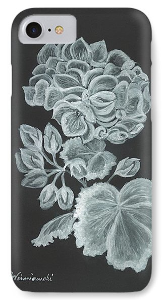 The Gossamer Geranium IPhone Case by Carol Wisniewski