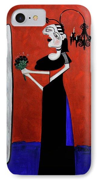 The Gothic Brides Maid IPhone Case