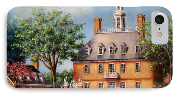 The Governor's Palace IPhone Case by Gulay Berryman