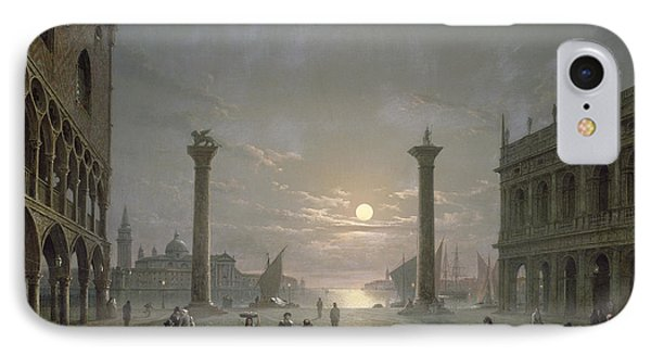 The Grand Canal From Piazza San Marco Phone Case by Henry Pether