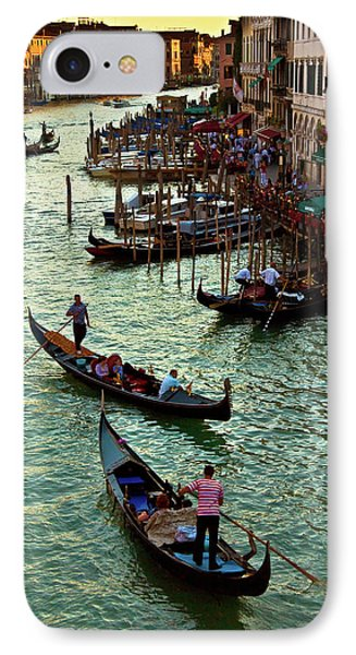 IPhone Case featuring the photograph The Grand Canal Venice by Harry Spitz