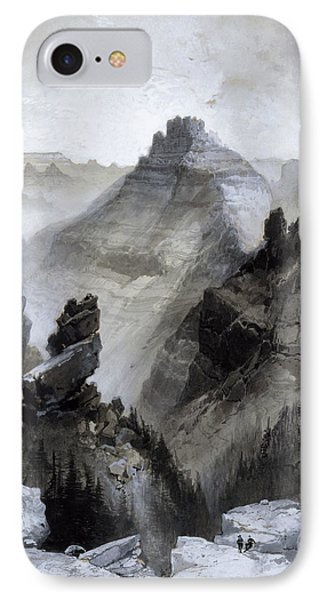 The Grand Canyon - Head Of The Old Hance Trail IPhone Case