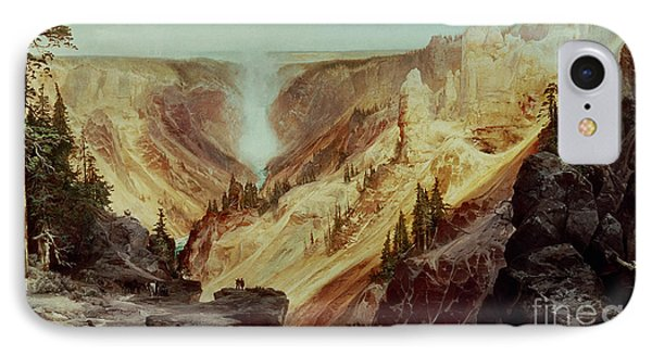 The Grand Canyon Of The Yellowstone IPhone 7 Case by Thomas Moran