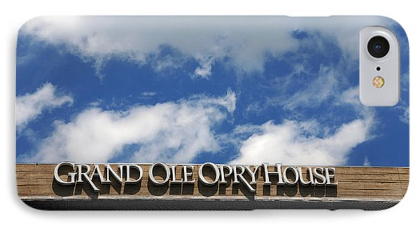 The Grand Ole Opry Nashville Tn Phone Case by Susanne Van Hulst
