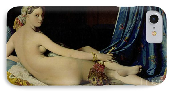 The Grande Odalisque Phone Case by Ingres
