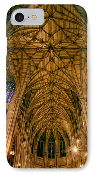 The Grandeur Of St. Patrick's Cathedral IPhone Case by Jessica Jenney