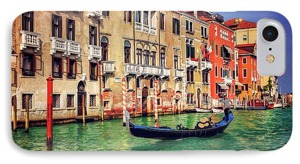 The Grandeur Of The Grand Canal Venice  IPhone Case
