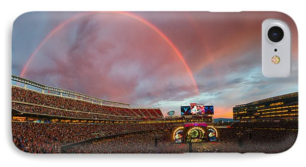 The Grateful Dead Rainbow Of Santa Clara, California IPhone Case by Beau Rogers