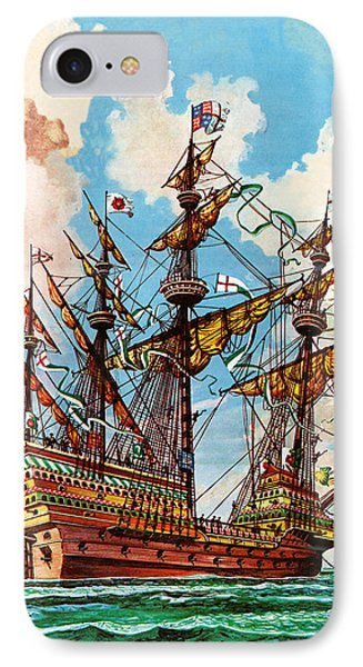 The Great Harry, Flagship Of King Henry Viii's Fleet IPhone Case