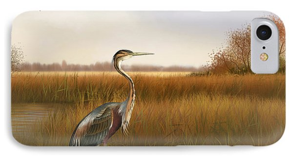 The Great Marsh-jp2859 IPhone Case by Jean Plout