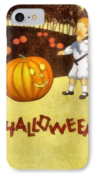 The Great Pumpkin IPhone Case by Unknown