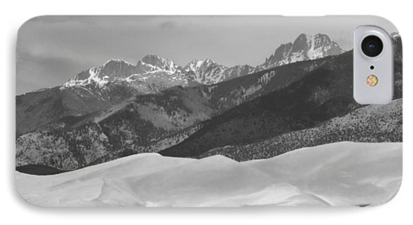 The Great Sand Dunes Bw Print 45 Phone Case by James BO  Insogna