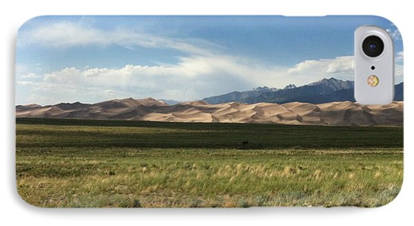 The Great Sand Dunes IPhone Case by Christin Brodie