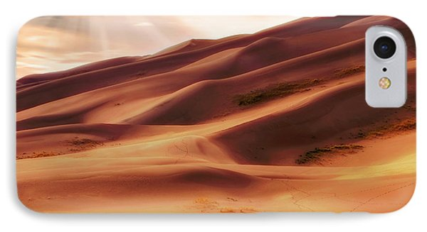 IPhone Case featuring the photograph The Great Sand Dunes Of Colorado - Landscape - Sunset by Jason Politte