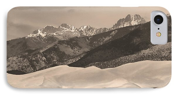 The Great Sand Dunes Sepia Print 45 Phone Case by James BO  Insogna