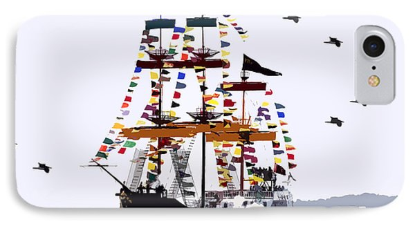 The Great Ship Gasparilla IPhone Case