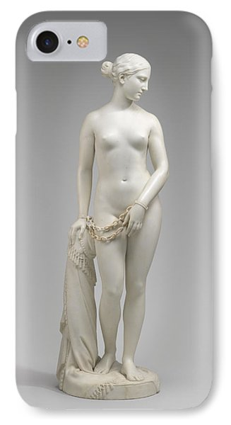 The Greek Slave IPhone Case by Hiram Powers