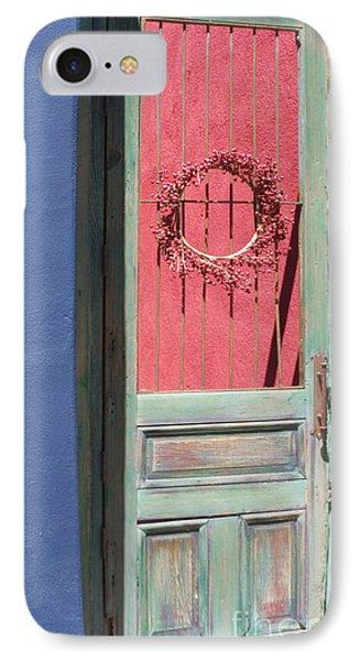 The Green Door IPhone Case by Elvira Butler