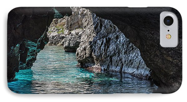 The Green Grotto IPhone Case by John Greim