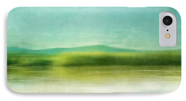 The Green Haze IPhone Case by Priska Wettstein