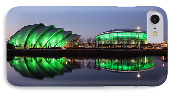 IPhone Case featuring the photograph The Green Hour by Grant Glendinning