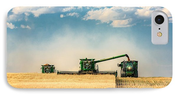 Rural Scenes iPhone 7 Case - The Green Machines by Todd Klassy