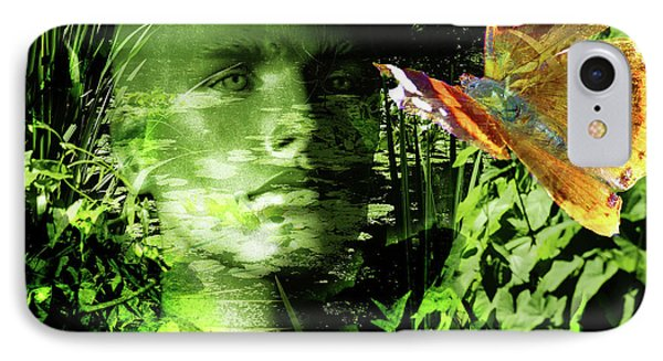 IPhone Case featuring the photograph The Green Man by LemonArt Photography