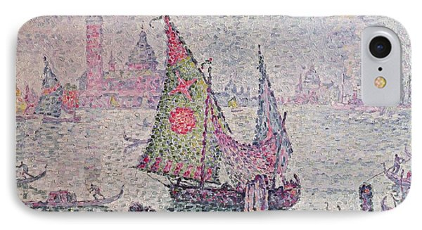 The Green Sail Phone Case by Paul Signac
