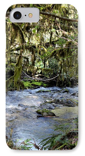 The Green Seen IPhone Case by Marie Neder