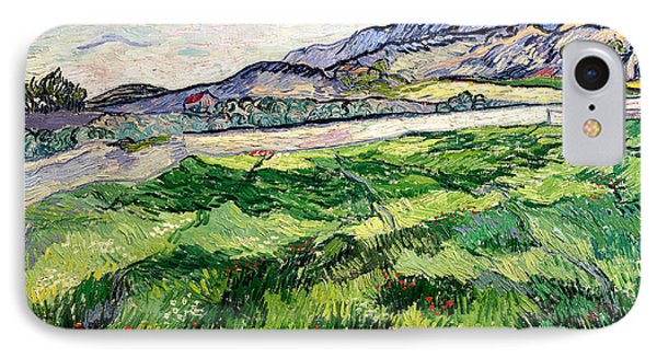 The Green Wheatfield Behind The Asylum IPhone Case