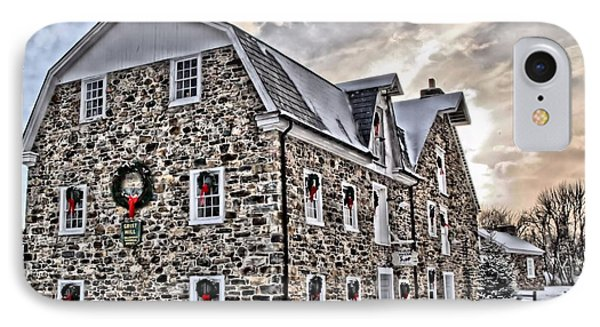 The Grist Mill And Ye Old Tavern IPhone Case