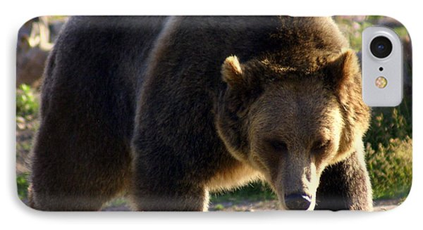 The Grizz Phone Case by Marty Koch