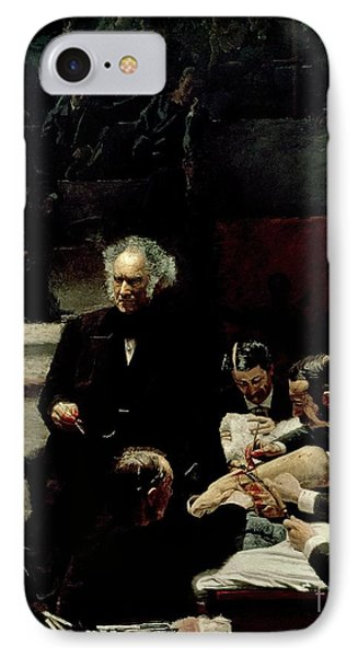 The Gross Clinic IPhone Case by Thomas Cowperthwait Eakins