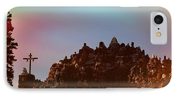 The Grotto Of The Redemption At Sunset IPhone Case