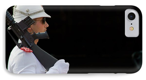 IPhone Case featuring the photograph The Guard by Keith Armstrong