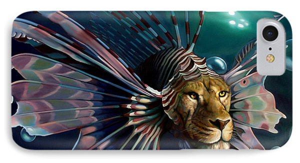 The Guardian IPhone Case by Patrick Anthony Pierson