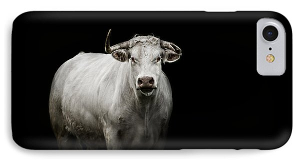 Bull iPhone 7 Case - The Guardian by Paul Neville