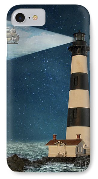 IPhone Case featuring the photograph The Guiding Light by Juli Scalzi