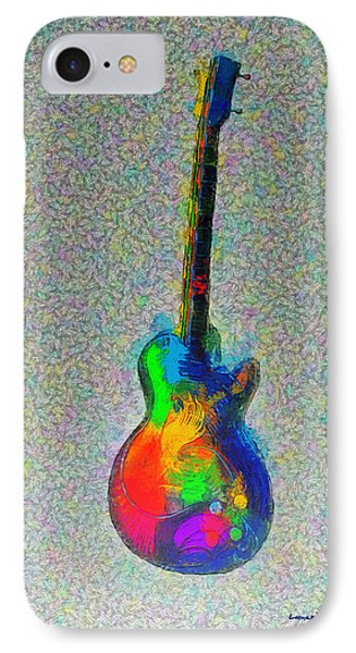 The Guitar - Pa IPhone Case by Leonardo Digenio