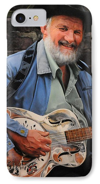 The Guitar Player IPhone Case