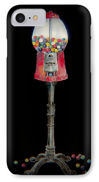 The Gumball Machine Phone Case by Arline Wagner