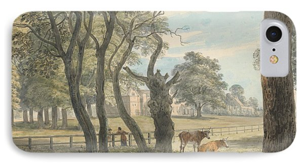 The Gunpowder Magazine, Hyde Park IPhone 7 Case by Paul Sandby