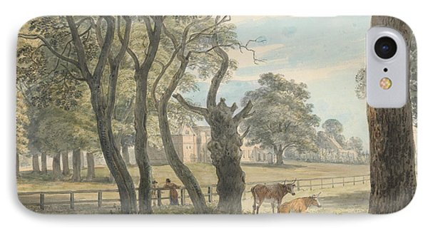 The Gunpowder Magazine, Hyde Park IPhone Case by Paul Sandby