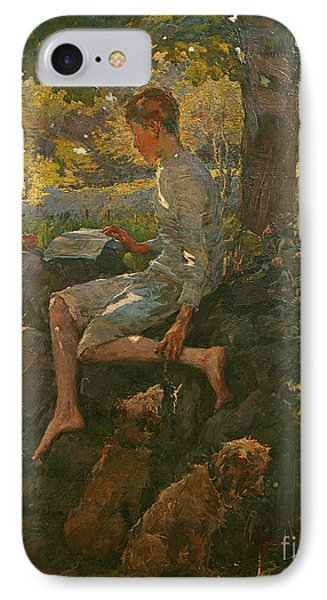 The Half Holiday IPhone Case by Elizabeth Adela Stanhope Forbes