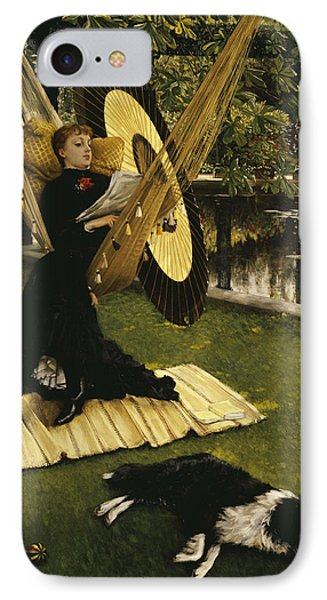 The Hammock IPhone Case by James Jacques Joseph Tissot