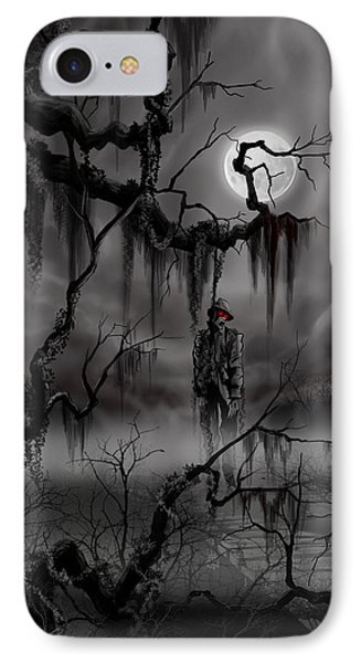 The Hangman IPhone Case by James Christopher Hill