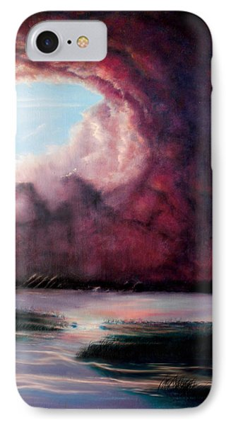 IPhone Case featuring the painting The Hansbach by Albert Puskaric